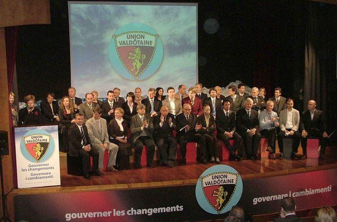 Federation autonomiste valle daosta candidating
