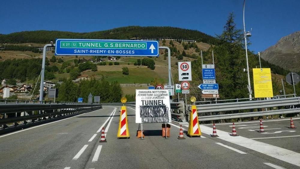Tunnel del gran san bernardo per la società svizzera ipotesi di