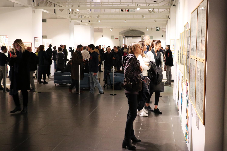 Inaugurazione mostra Jacovitti