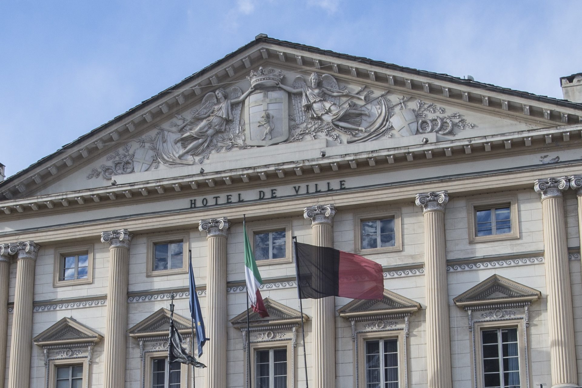 Piazza Chanoux - Municipio