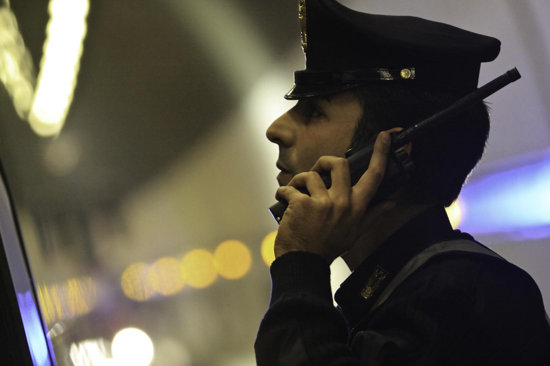 Polizia radio