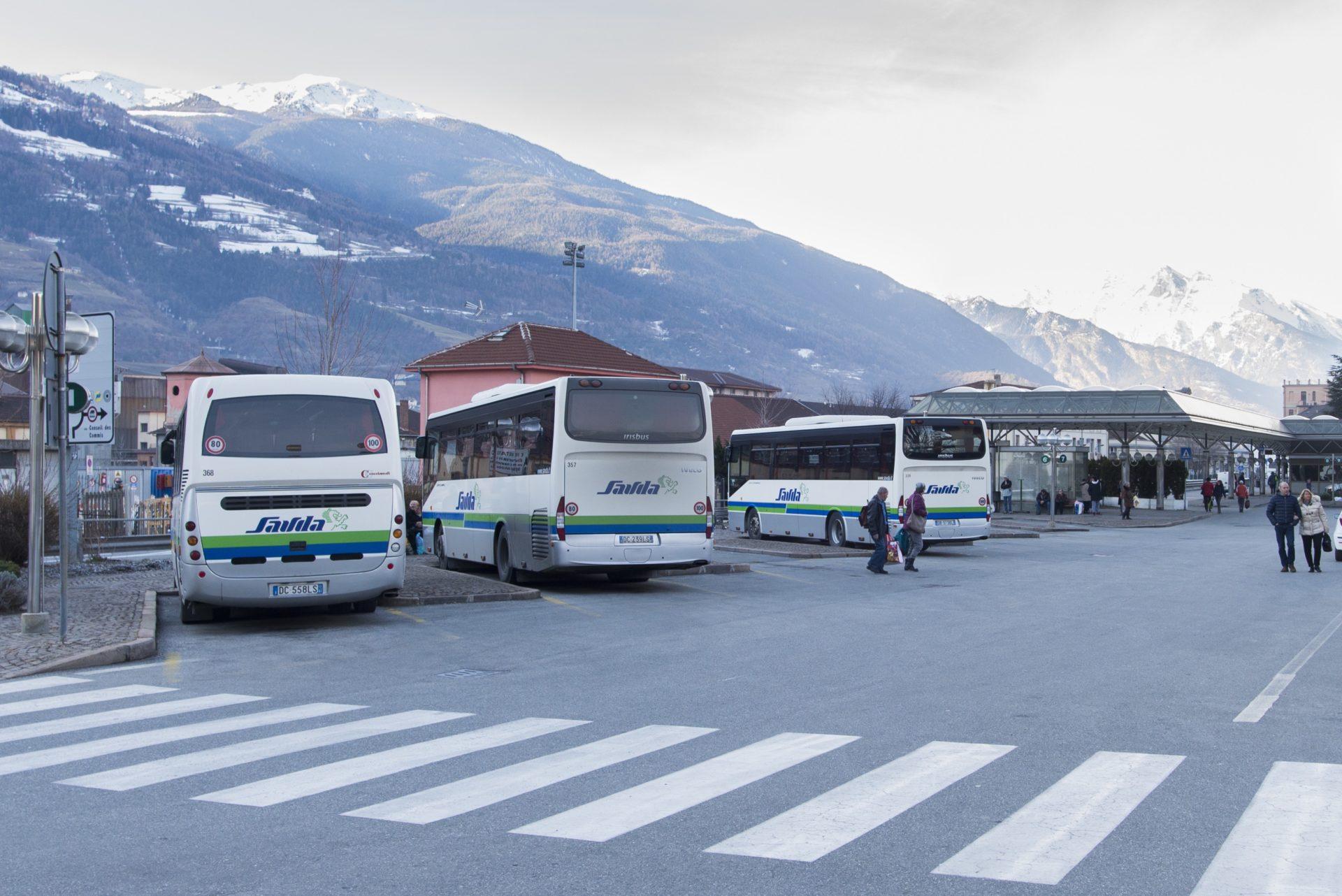 Stazione Autobus Aosta