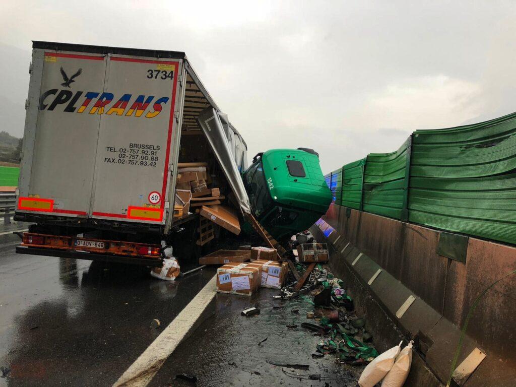 Tir barriere incidente