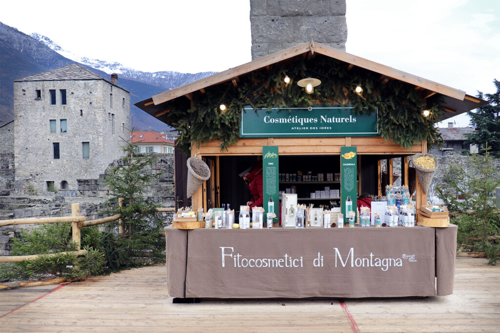 "Mercatino di Natale - ""Marché vert Noel"""