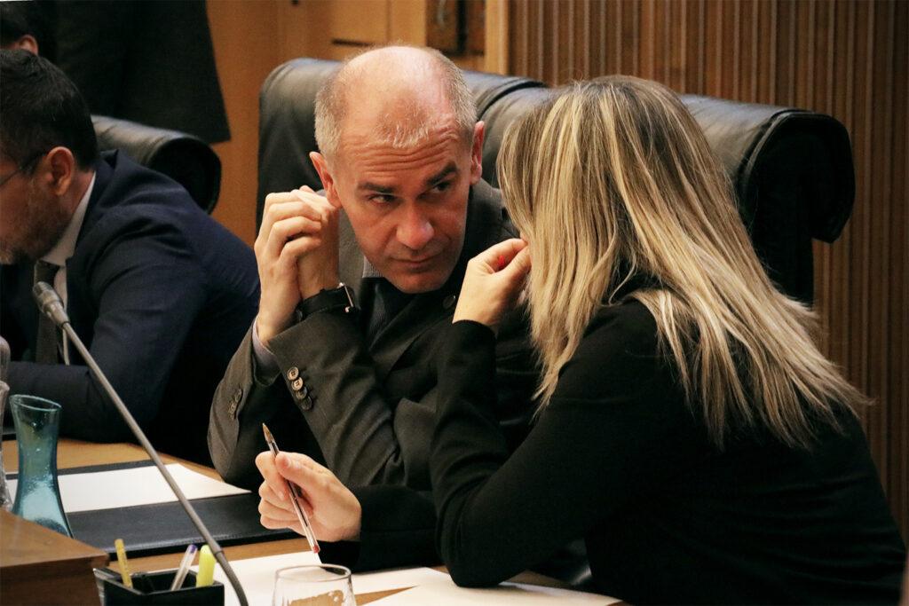 Consiglio Regionale 05.12.18 - Certan e Chatrian