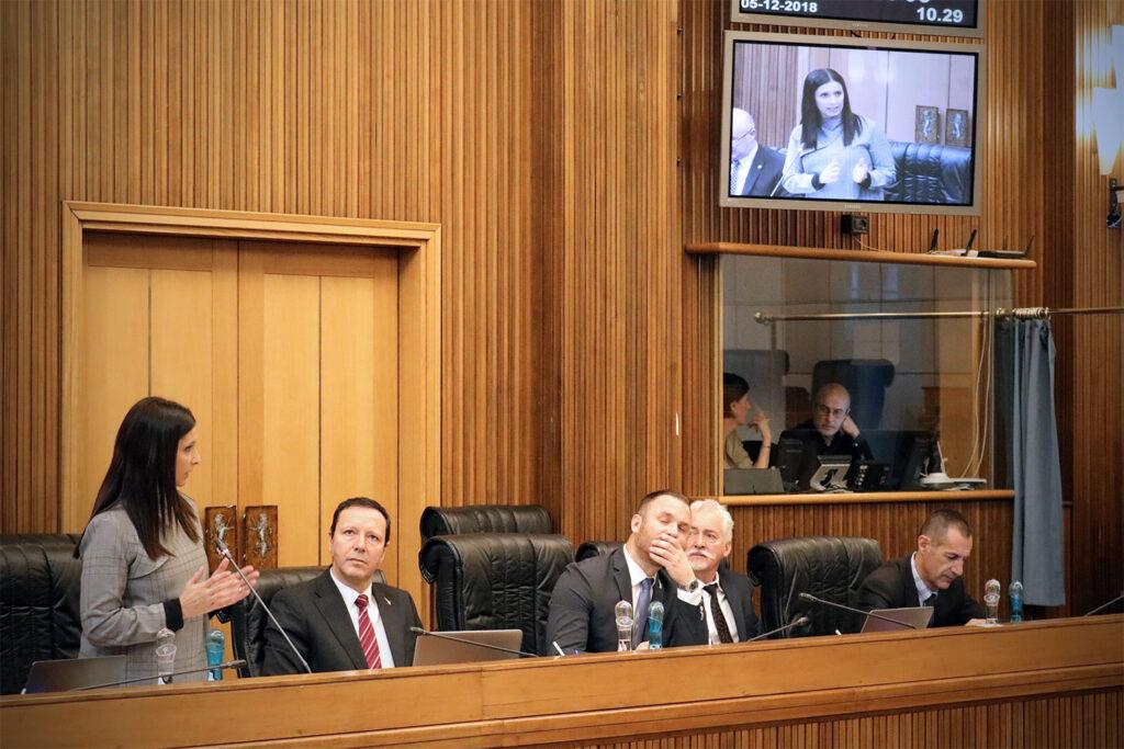 Consiglio Regionale 05.12.18 - Rini e Manfrin