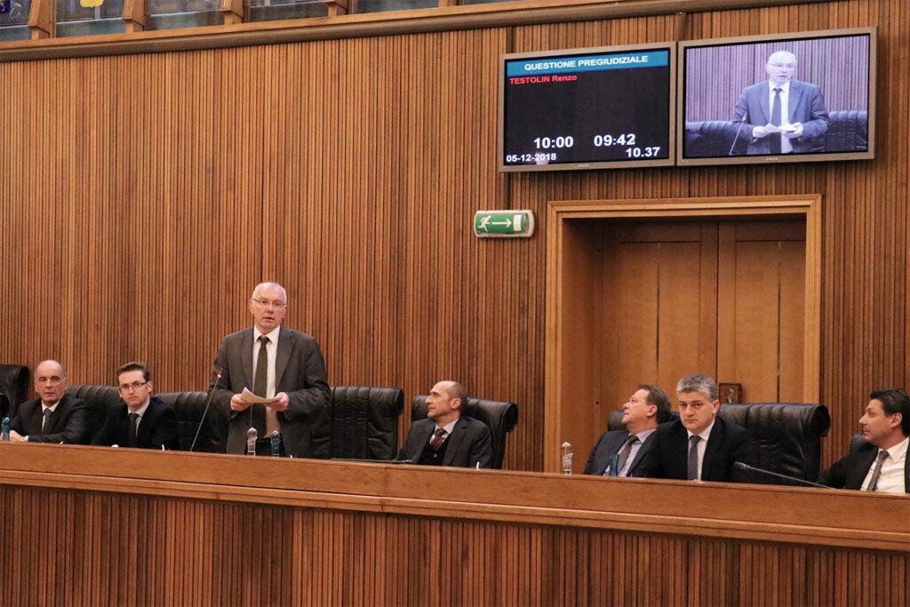 Consiglio Regionale 05.12.18 - Renzo Testolin