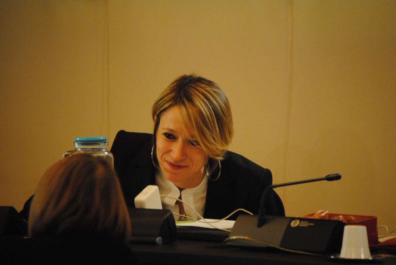 Sara Favre, Presidente del Consiglio comunale di Aosta
