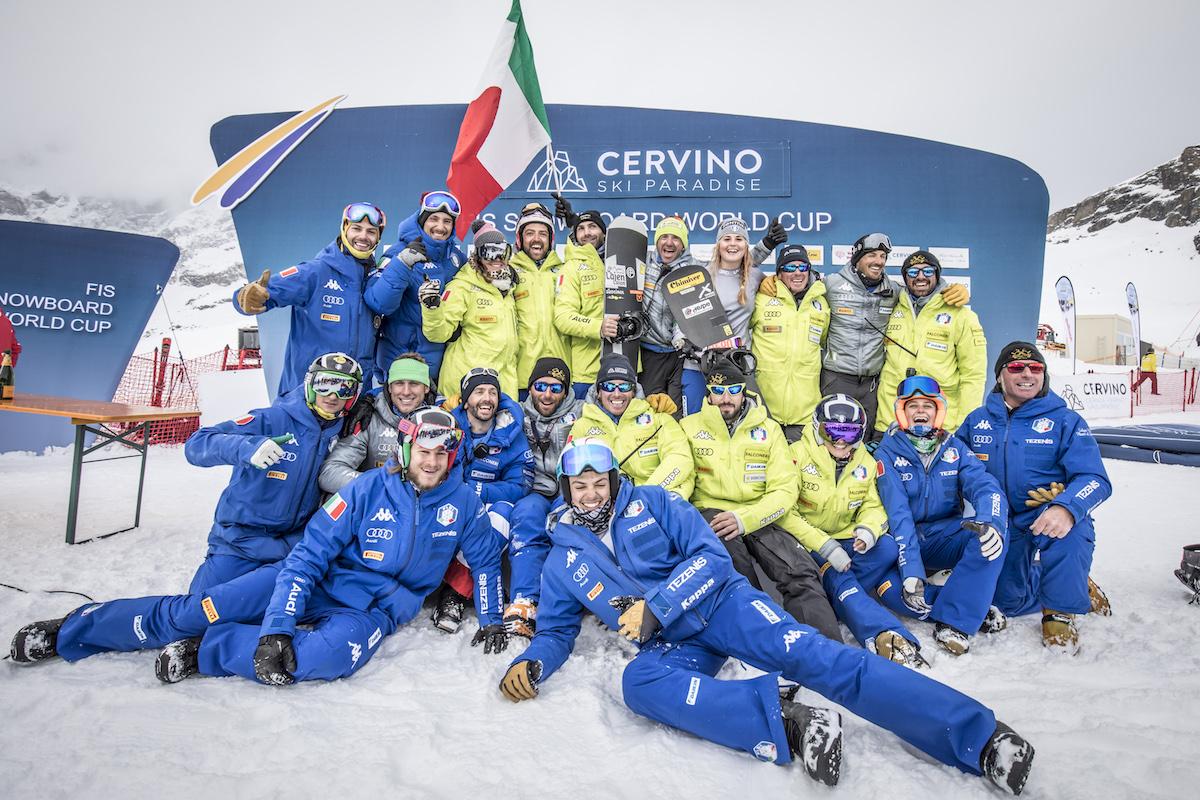 WorldCup SnowBoard Cervinia Gara PH Stefano Jeantet
