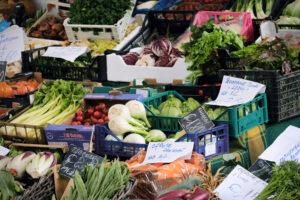 mercato Viale della Pace - verdura