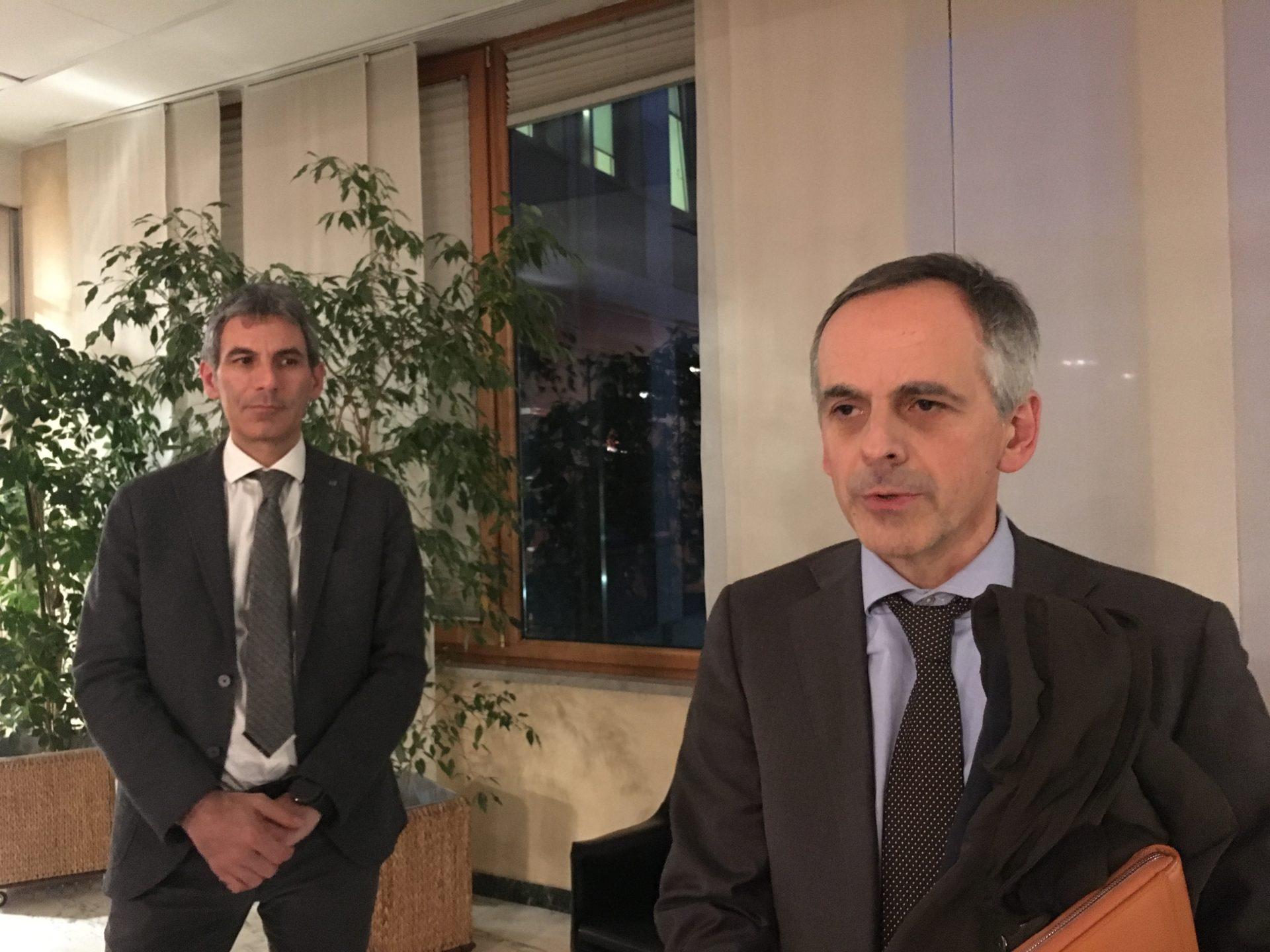 Marco Cantamessa e Enrico De Girolamo