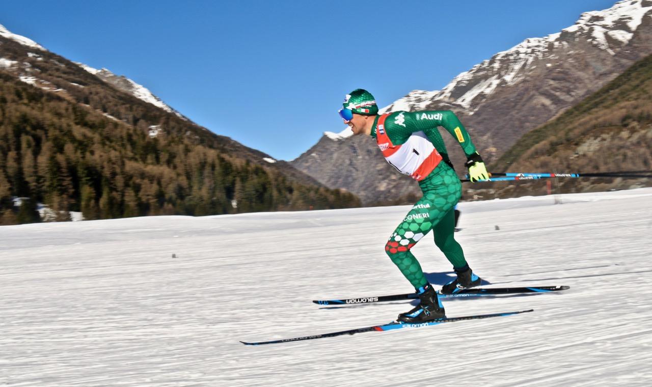Coppa del Mondo di Sci a Cogne - Francesco De Fabiani