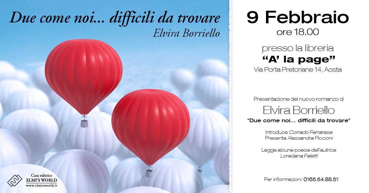 Elvira Borriello due come noi difficili da trovare