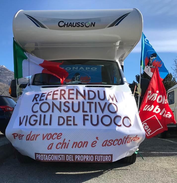 Referendum consultivo Vigili del Fuoco