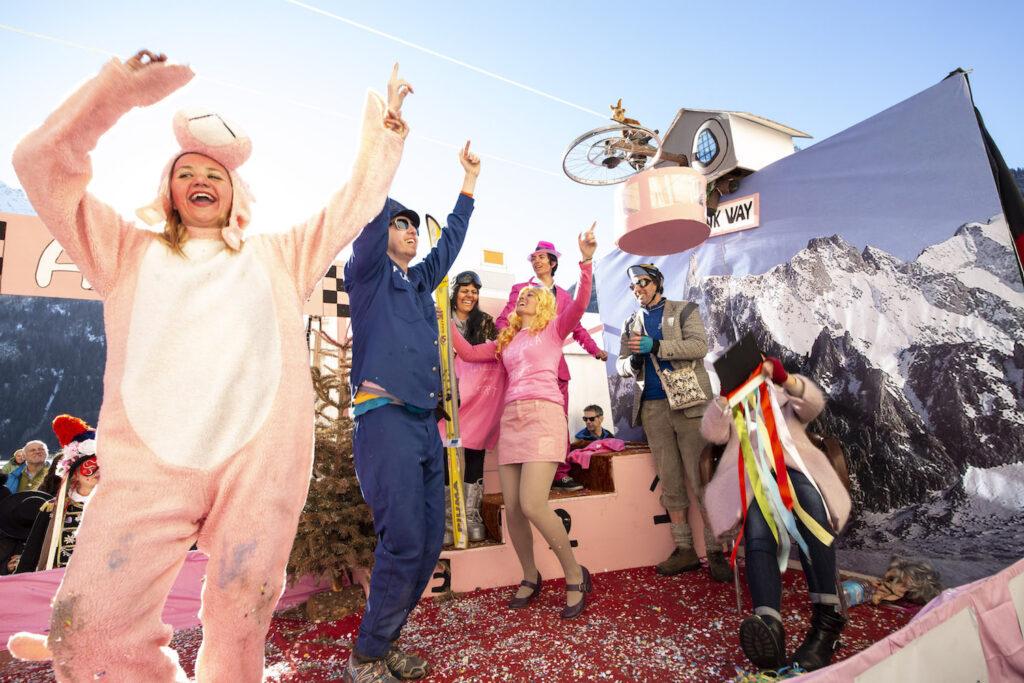 Carnevale Courmayeur marzo