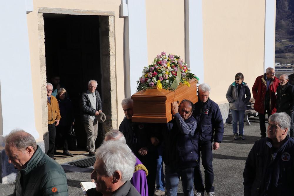 I funerali di Ida Desandré.