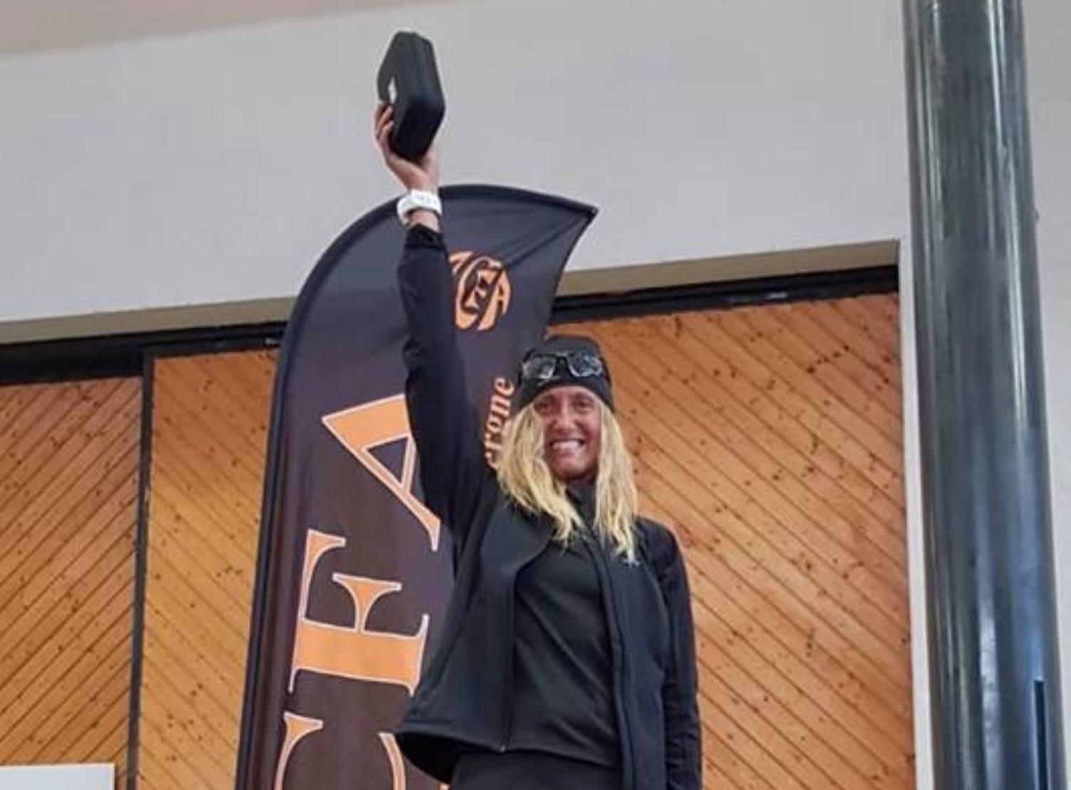 Simona Morbelli vincitrice al Trail de Vulcain