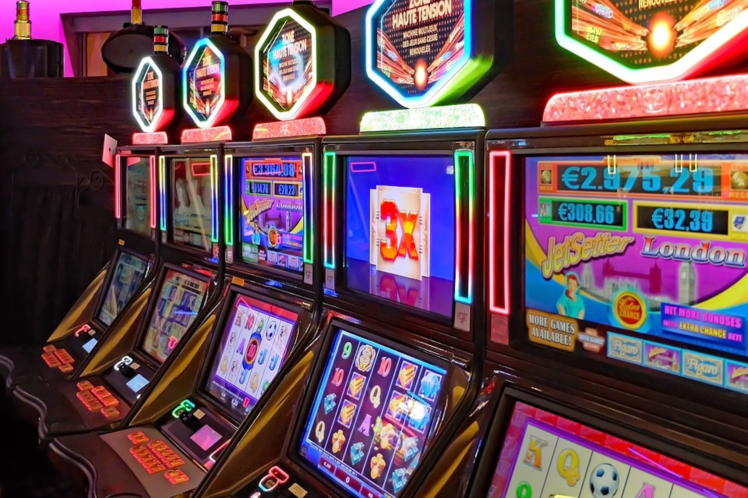 casinoSlot Machine, sale gioco, azzardopatia