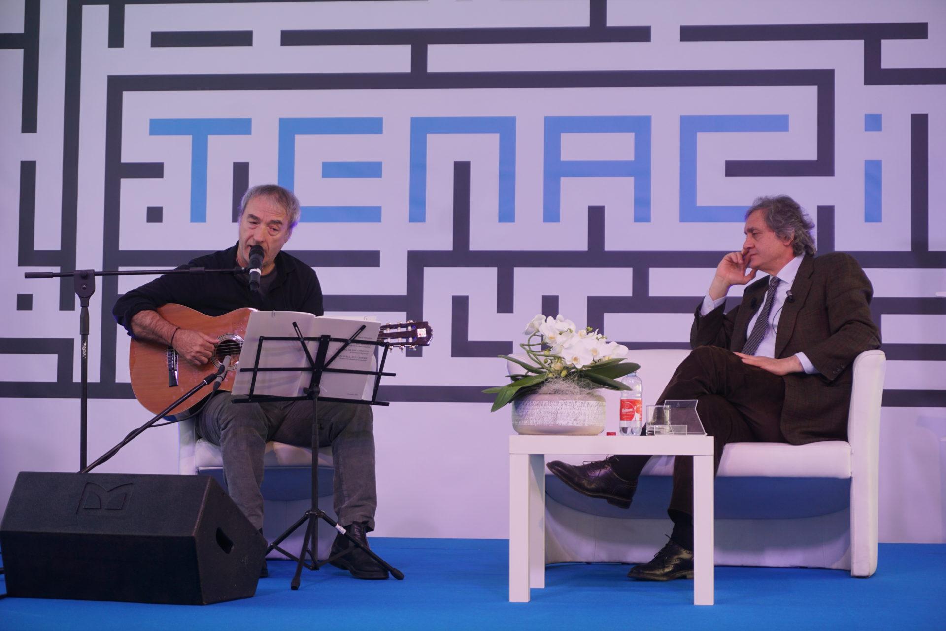 David Riondino e Arnaldo Colasanti - Les Mots 2019