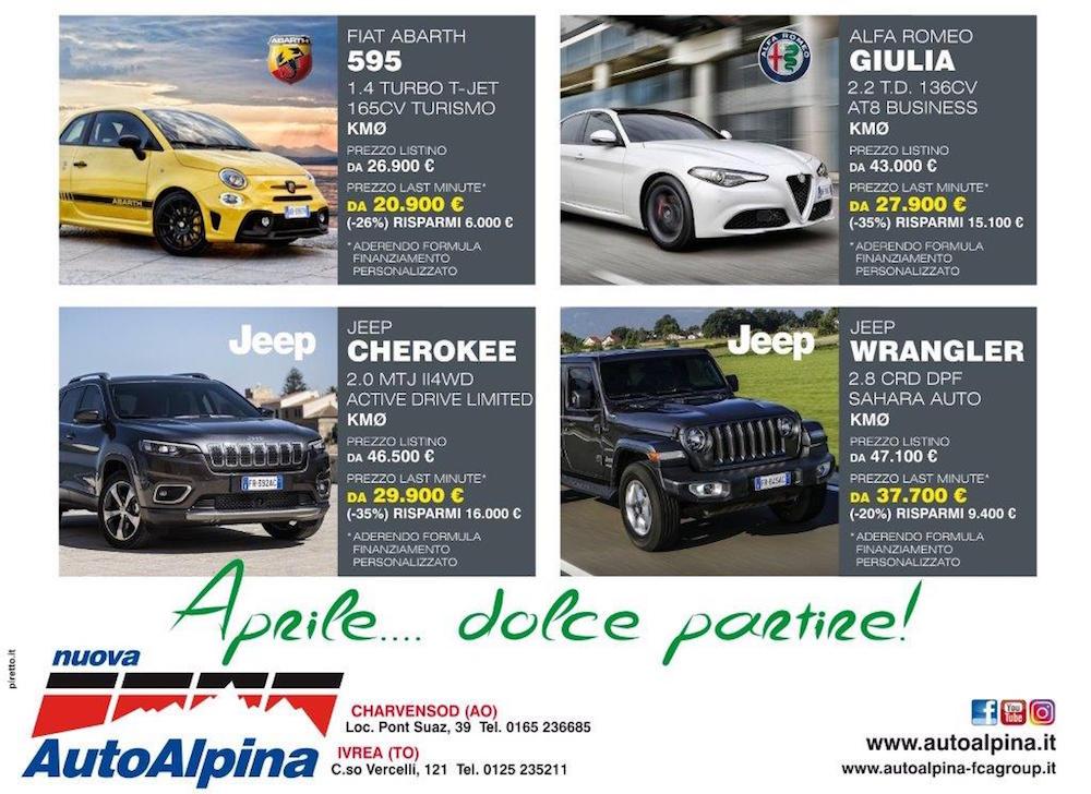 Occasioni aprile Nuova Auto Alpina