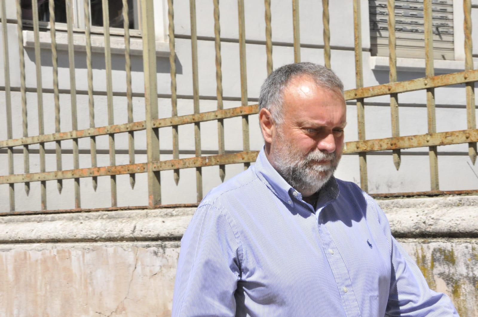 Franco Vicquéry lascia il Tribunale
