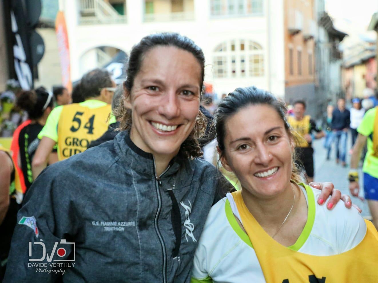Charlotte Bonin e Ambra Corolla foto Davide Verthuy