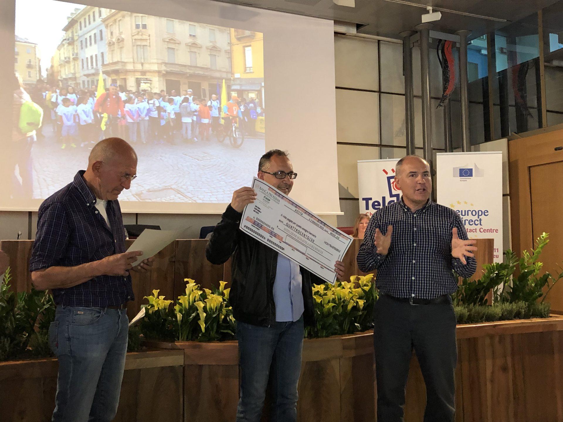 Premiazione Einaudi