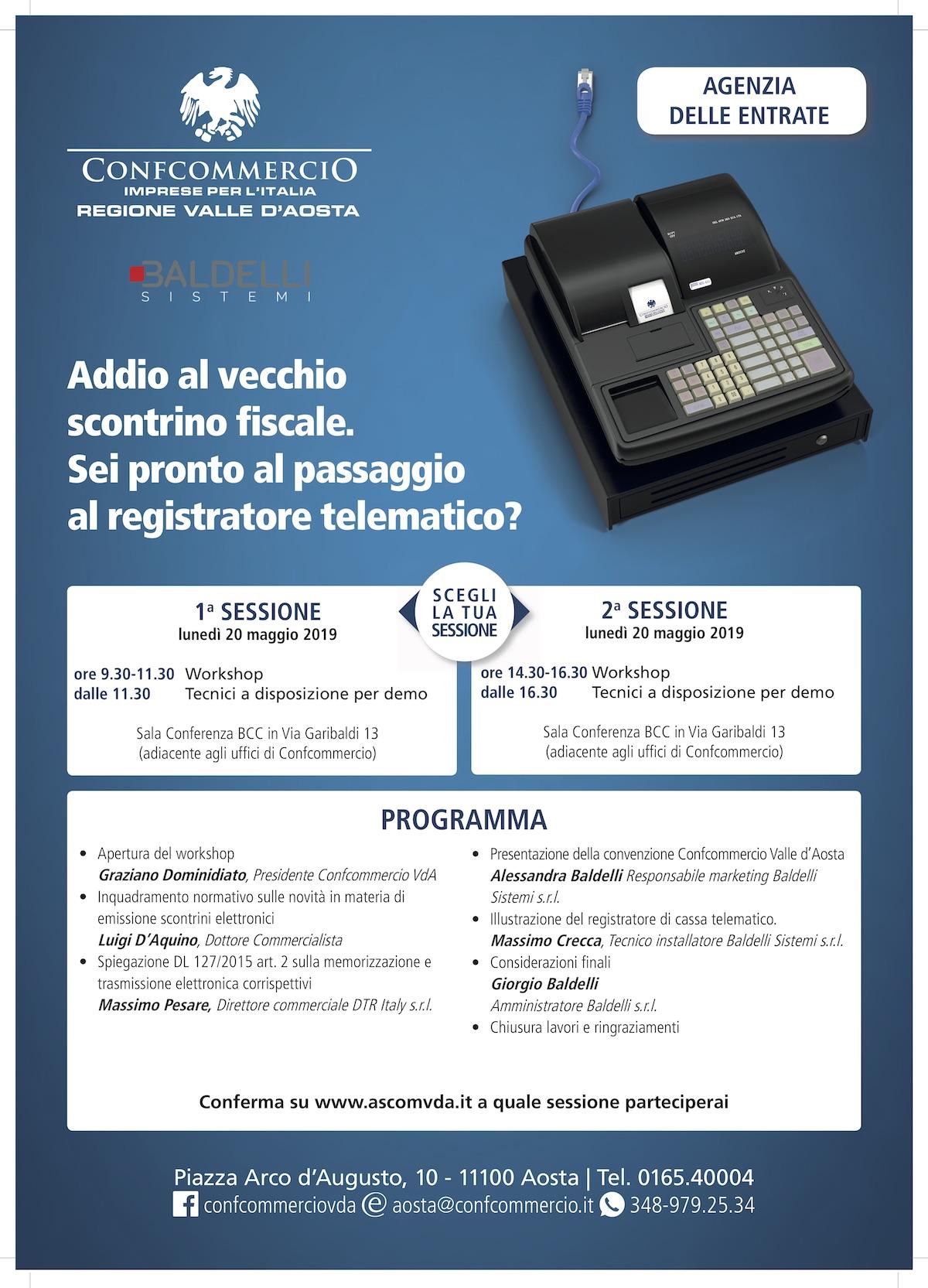 Flyer Evento Confcommercio Ufficiale