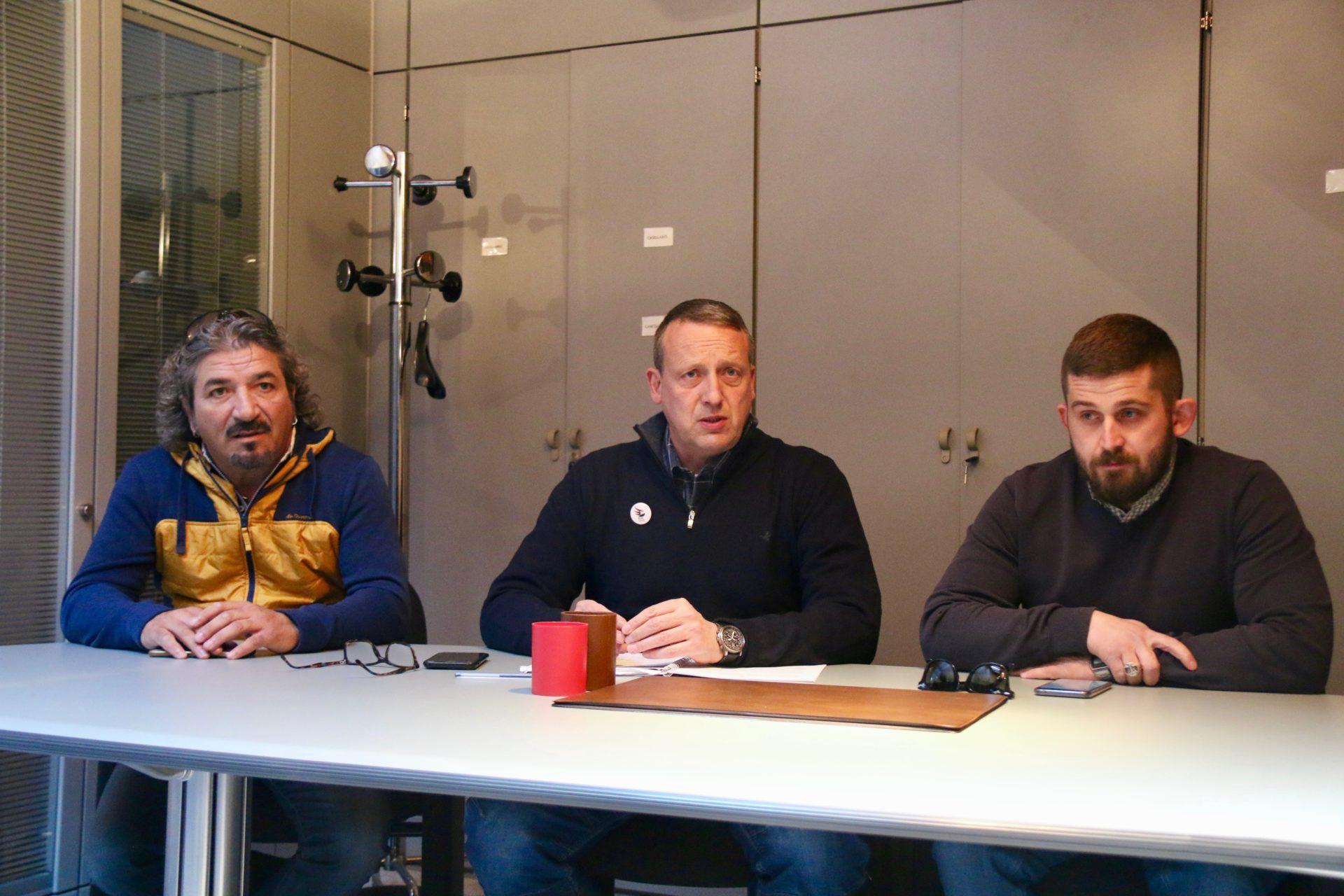 IMGVincenzo Caminiti, Etienne Andrione e Lorenzo Aiello