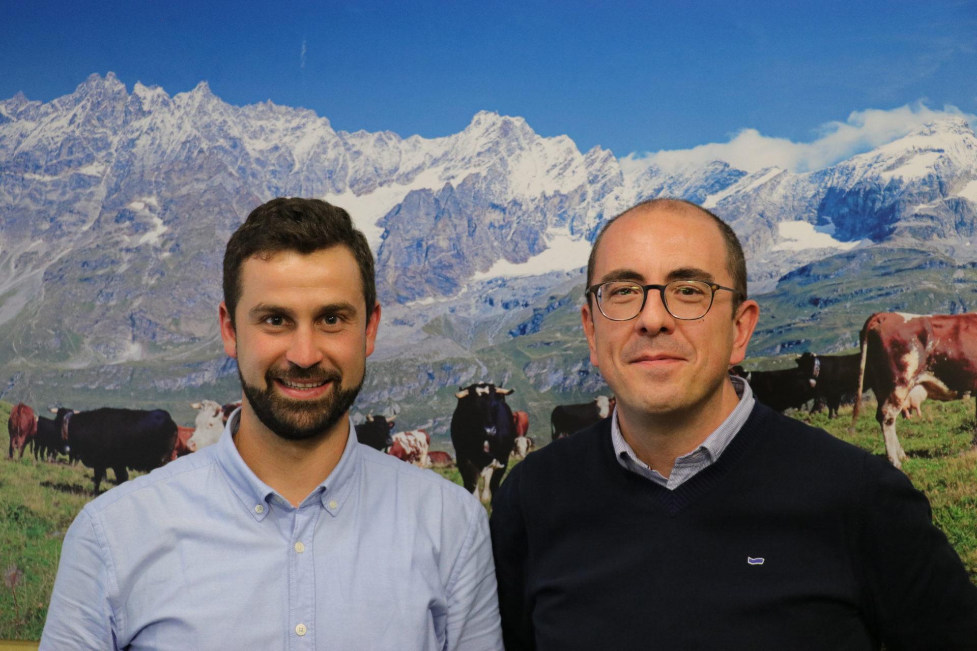 Alessio Nicoletta e Richard Lanièce