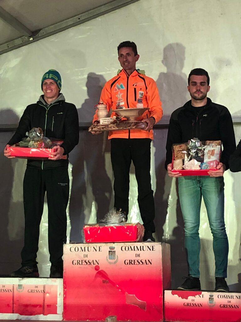 Podio maschile Tor de Gargantua Ascenzi Brunod Ranfone