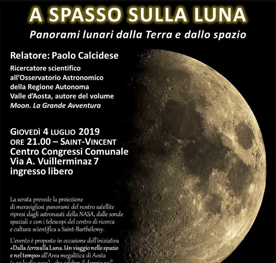 A spasso sulla luna
