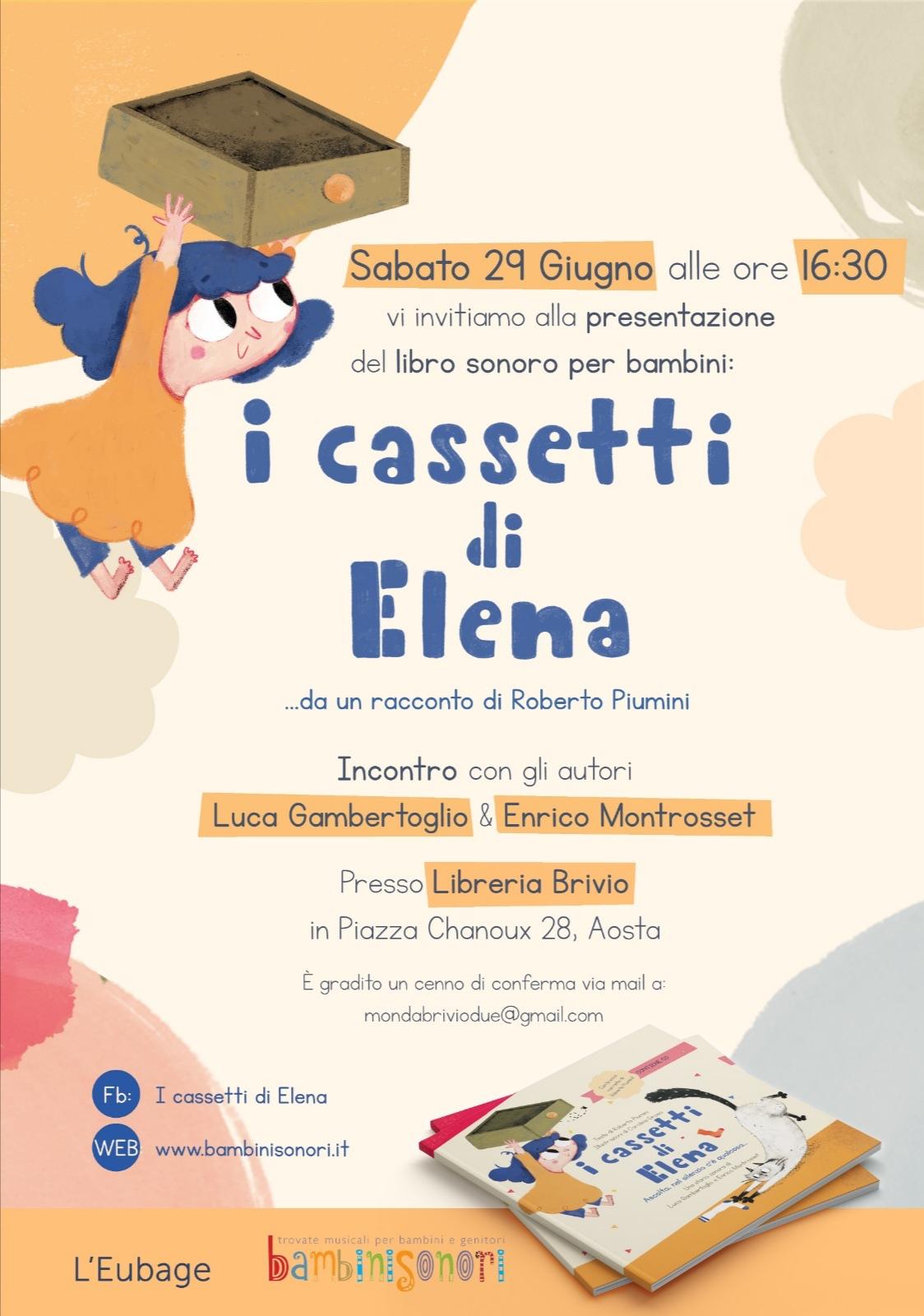 I cassetti di Elena - libro