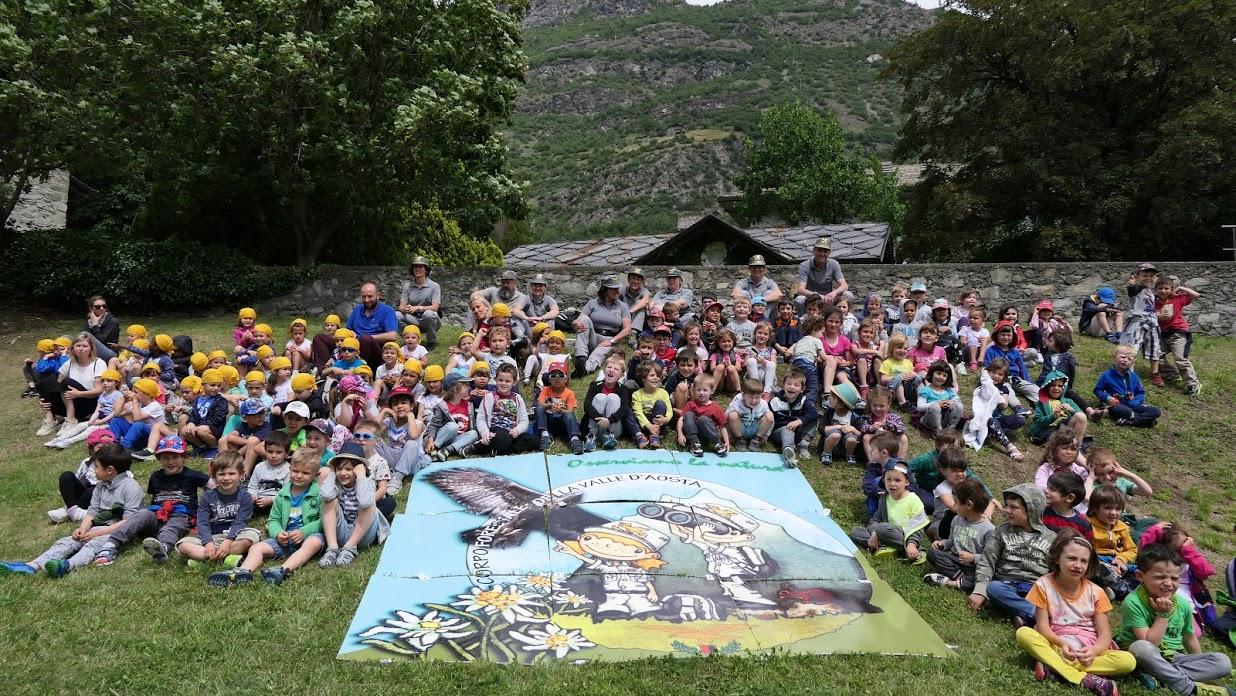 51° anniversario del Corpo forestale della Valle d'Aosta