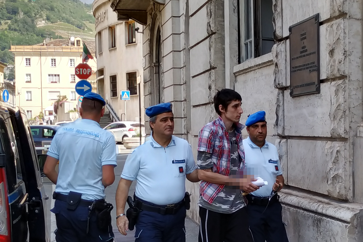 Paolo Formento arriva in Tribunale