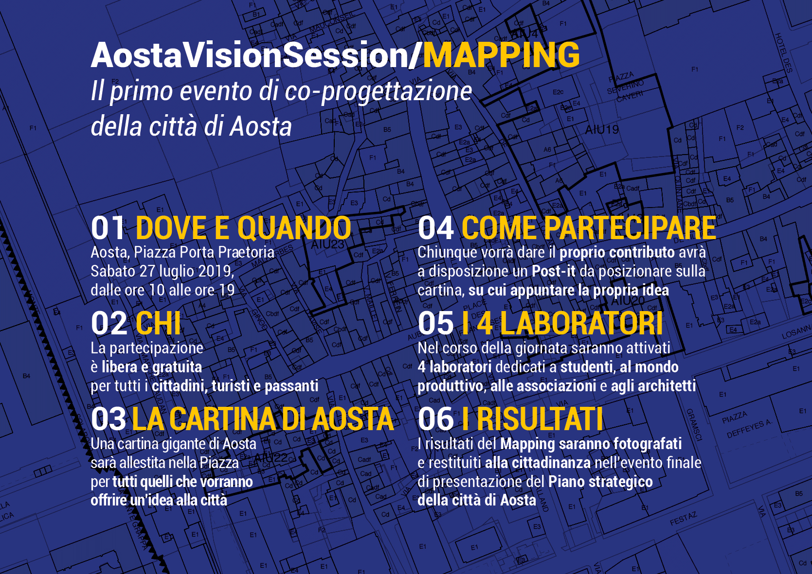 Cartolina MAPPING Retro