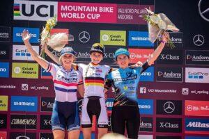 Martina Berta primo podio in Coppa del Mondo foto Michele Mondini