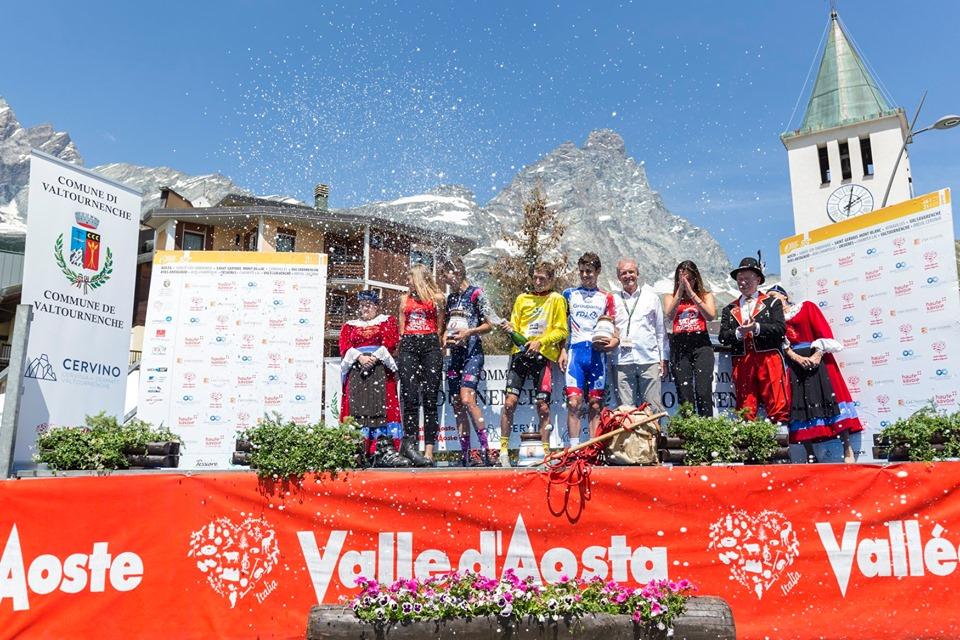 Mauri Vansevenant vince il ° Giro Ciclistico della Valle dAosta