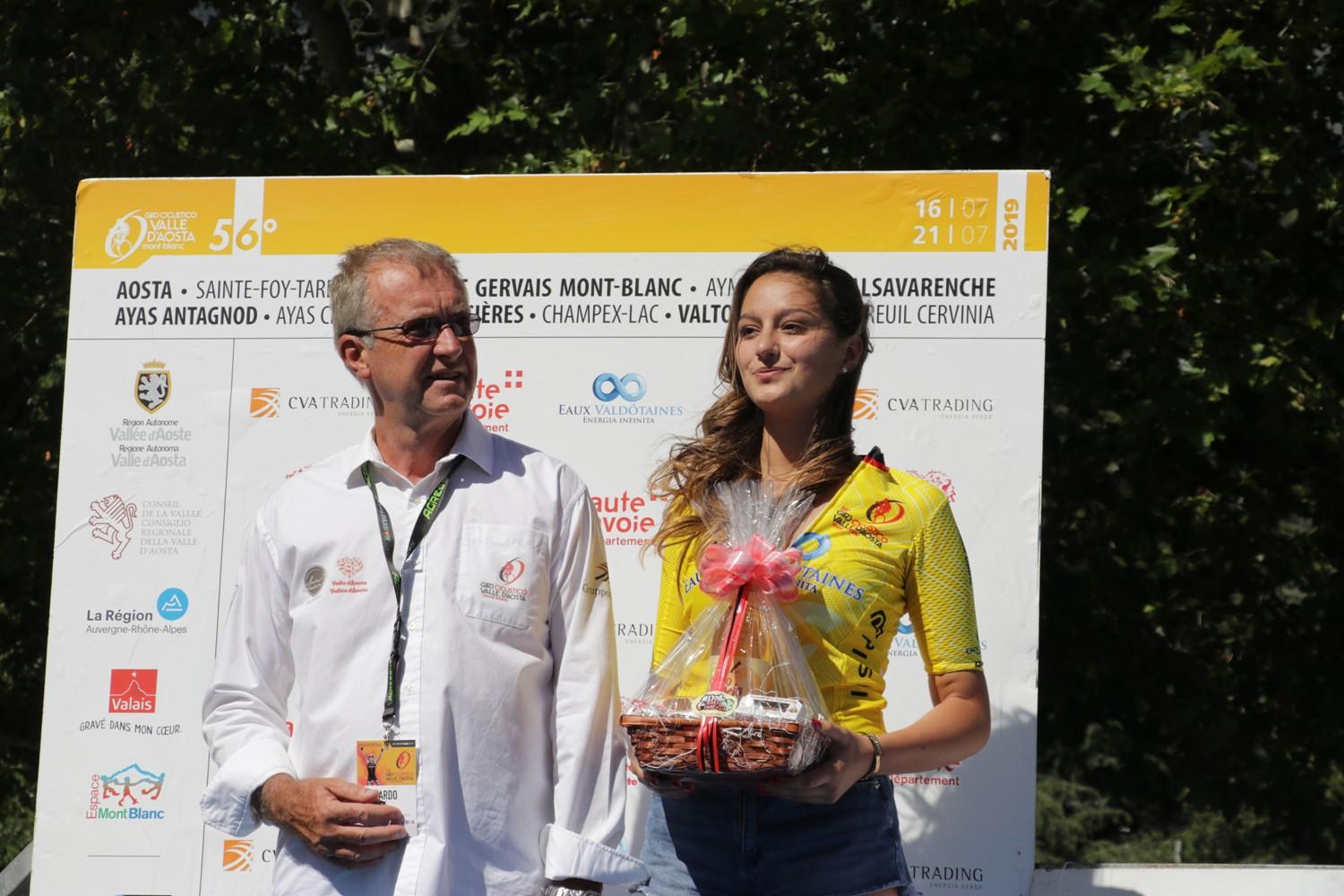 Presentazione squadre Giro Ciclistico Valle dAosta