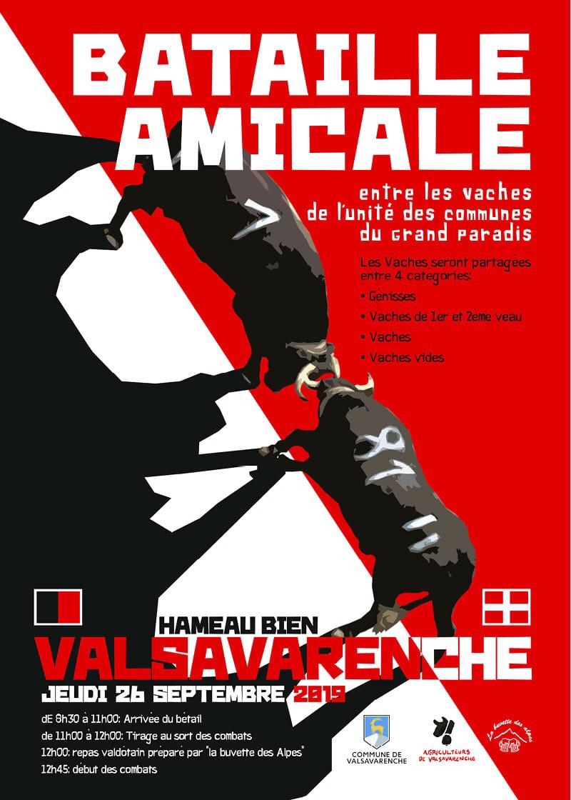Locandina Batailles Valsavarenche
