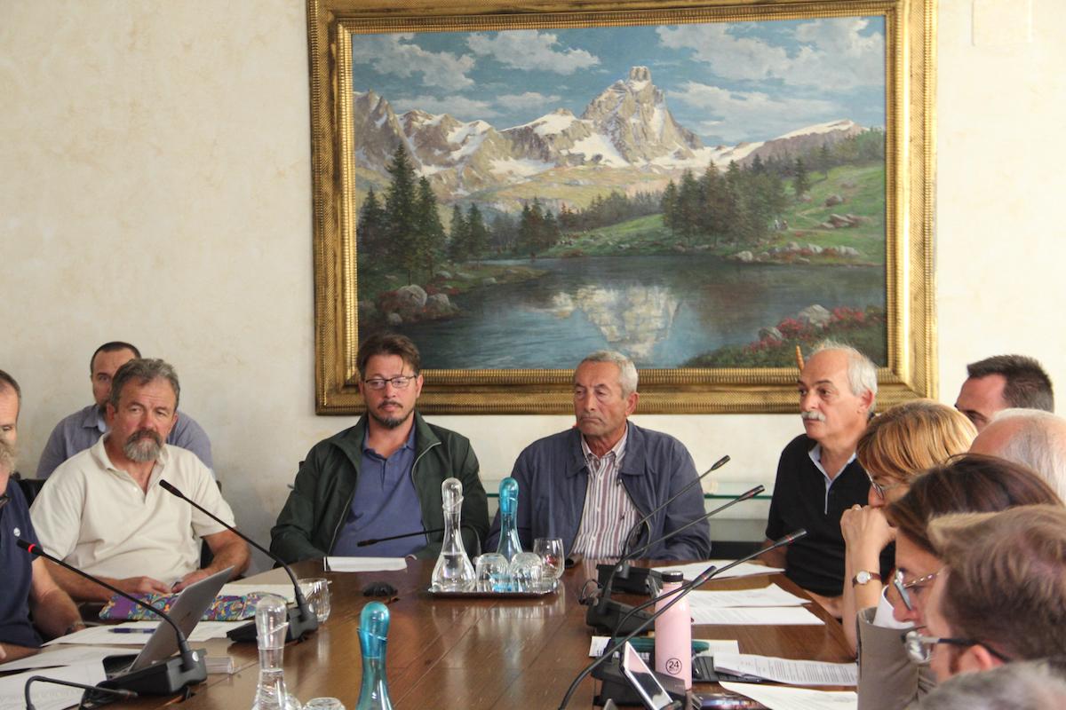 Audizione promotori raccolta firme discarica Pompiod