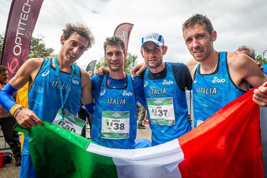 Il team Italia ai Mondiali di corsa in Montagna in Argentina
