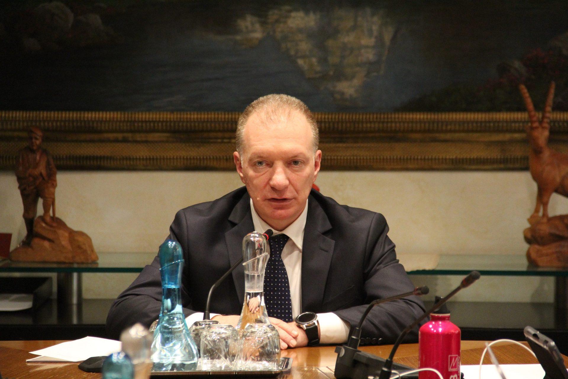 Questore Ivo Morelli