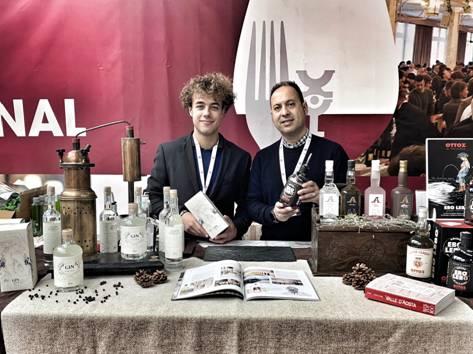 Da Sinistra: Nicolas Bovard e Angelo Sarica delle Distillerie Levi -St.Roch - Ottoz