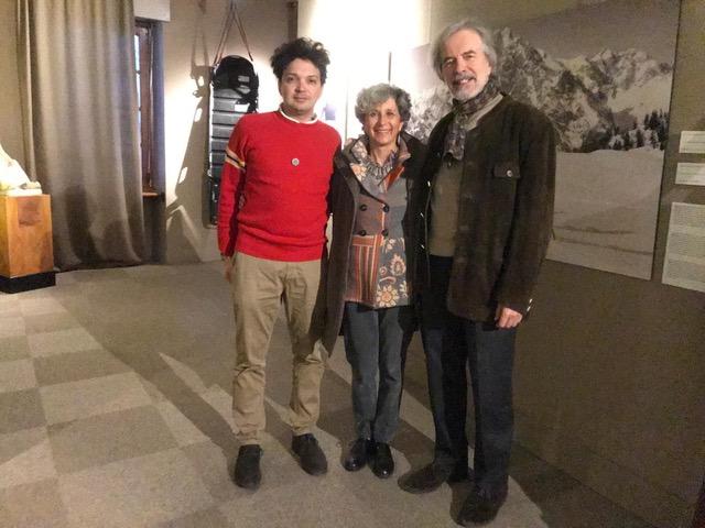 Alex Campedelli, Gioachino Gobbi e la moglie Betta