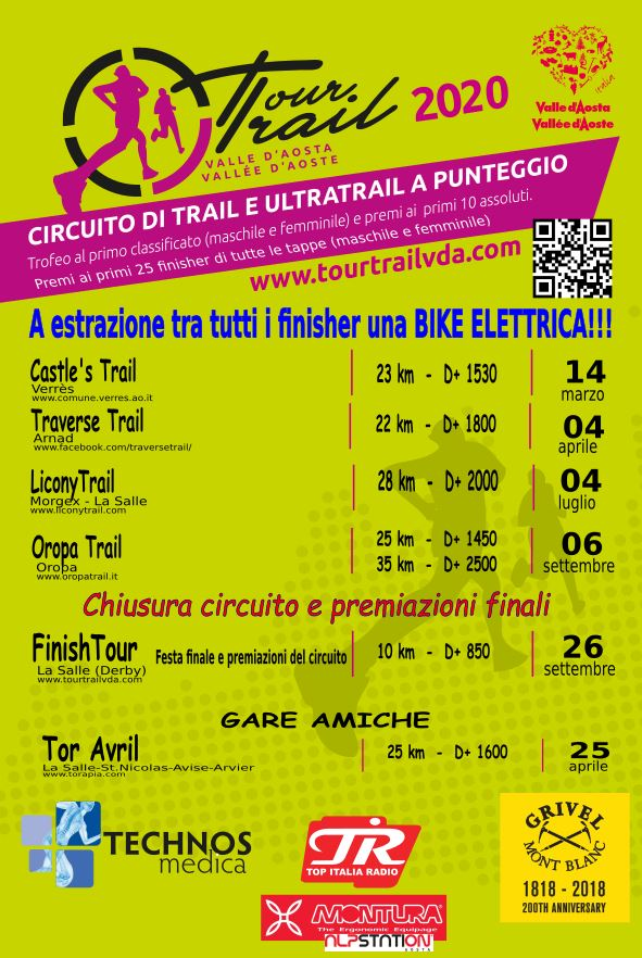 Calendario Tour Trail