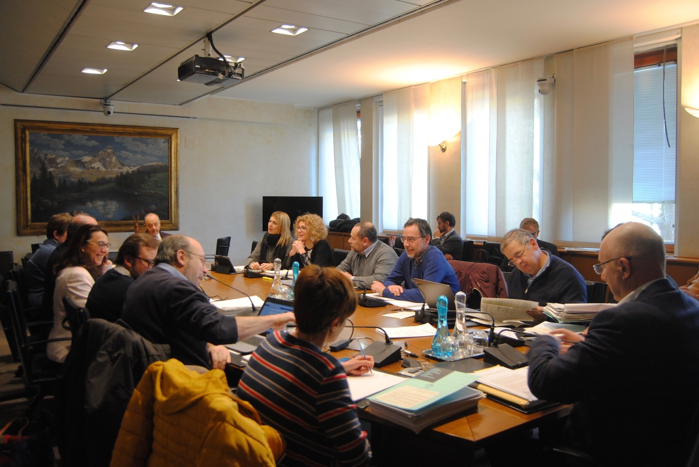 L'audizione dei vertici di Finaosta in Commissione