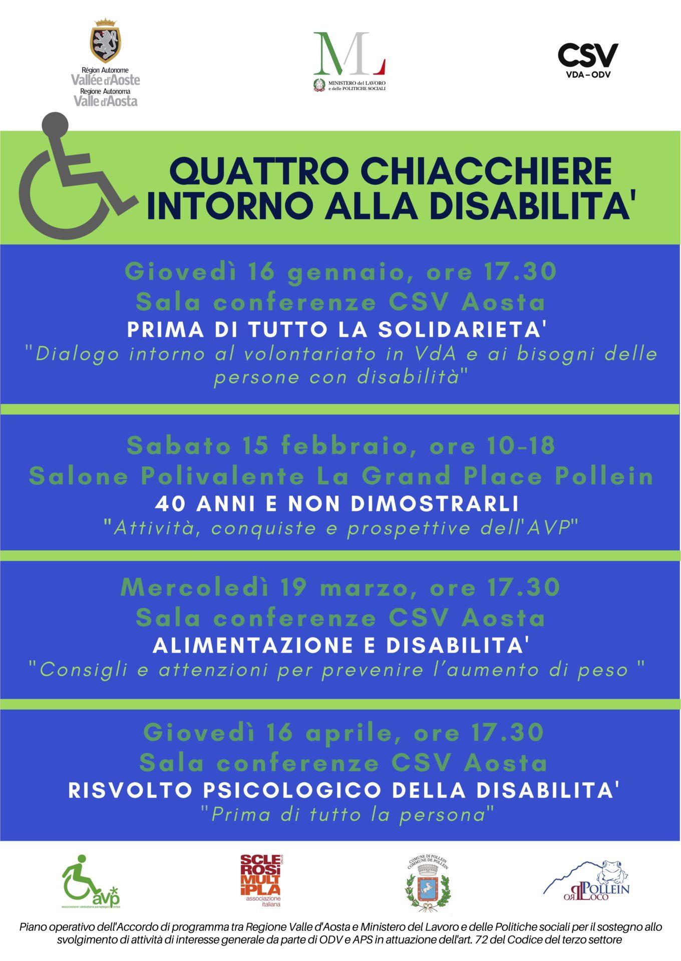 Quattro chiacchiere intorno alla disabilità