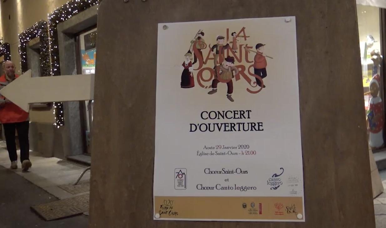 concerto apertura Sant'Orso 2020