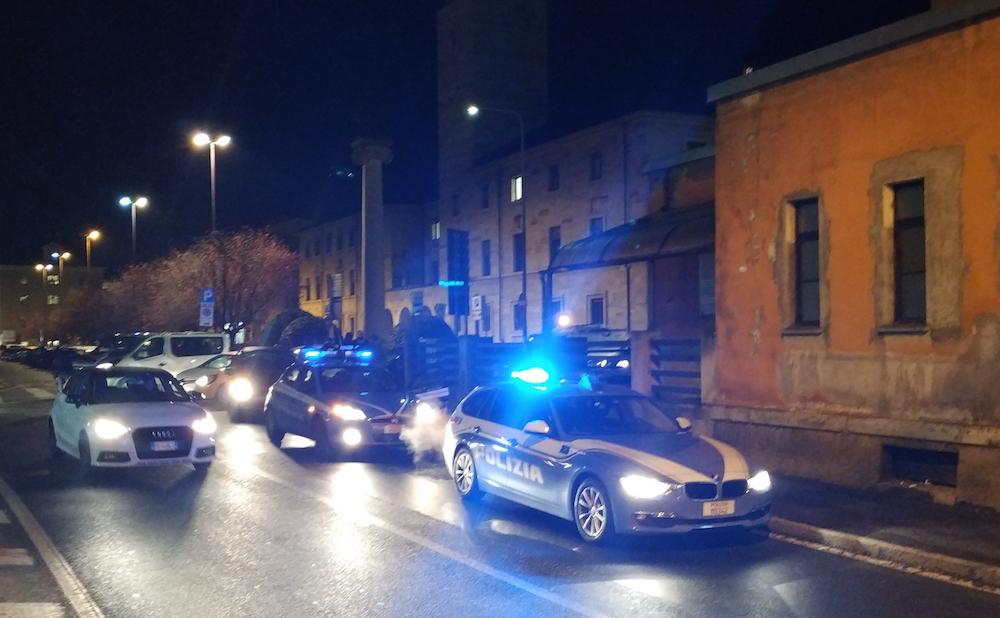 Volanti Polizia notturno